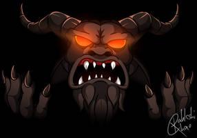 Power of Mega Satan by RahkshiChao