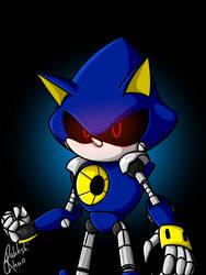 Metal Sonic by RahkshiChao