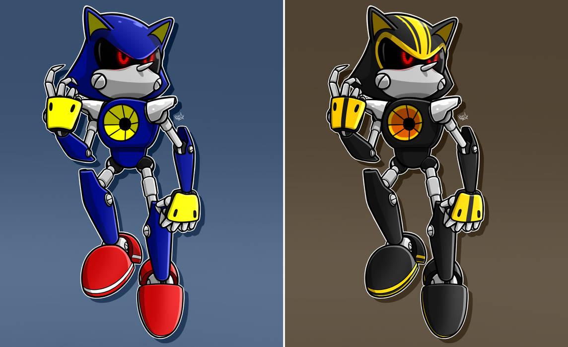 Metal Sonic and Metal Sonic 3.0