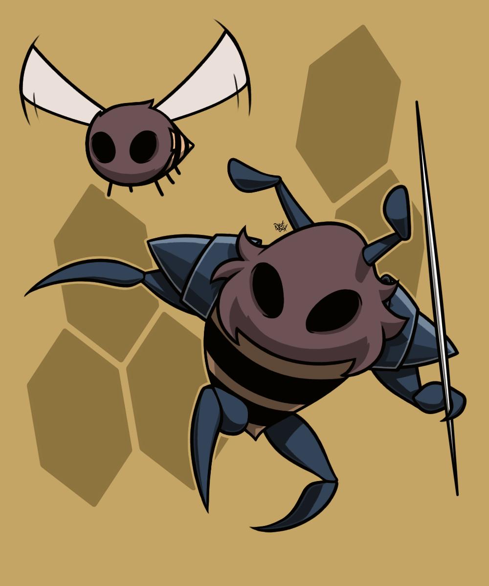 Hive Knight - (Redraw)