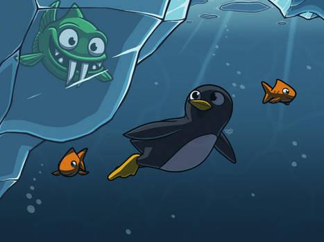Underwater Fishsicle