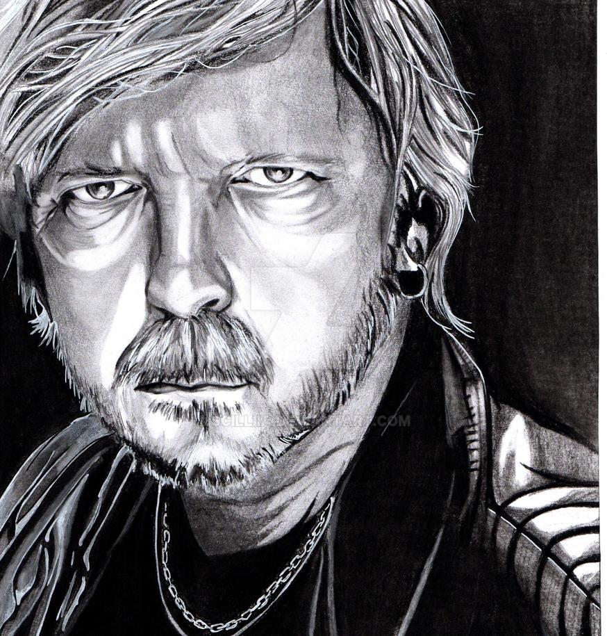 Portrait Renaud Sechan by Scilliia
