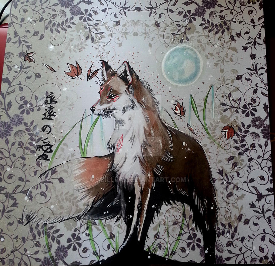 Kitsune by Scilliia