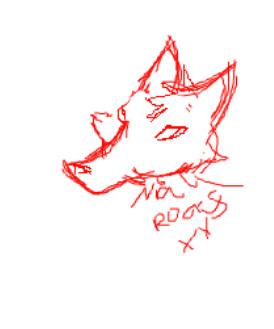 fox sigh by Niallrocksxx