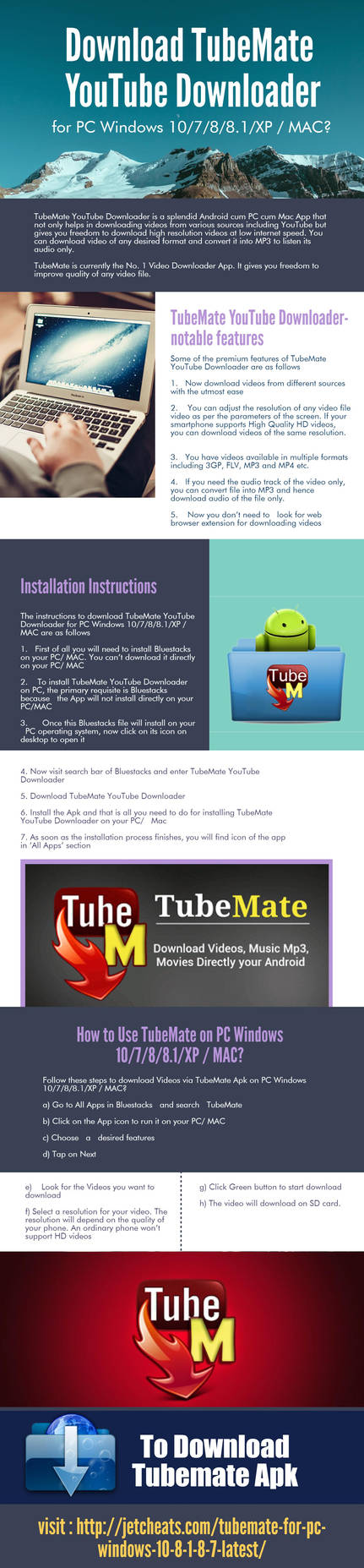 Download TubeMate YouTube Downloader for PC Window by