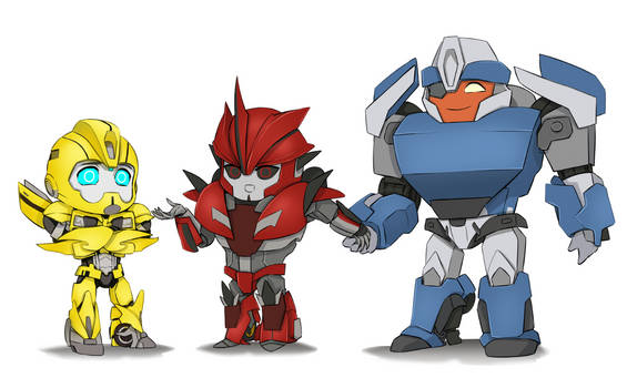 Bumblebee, Knockout and Breakdown