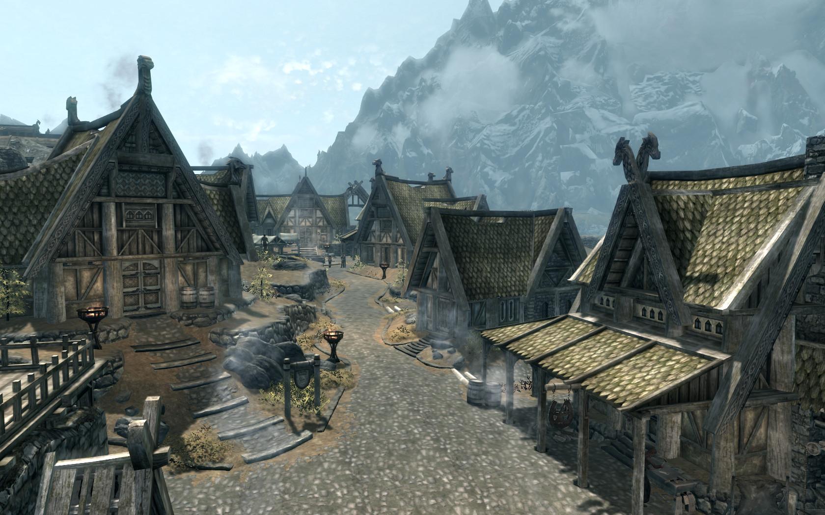 TES V: Skyrim- Whiterun 4 by Beodil on DeviantArt