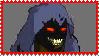 Stamp: Disturbed's mascot - The Guy by HanamiYumeno