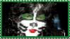 Stamp: KISS's Catman (Eric Singer) by HanamiYumeno