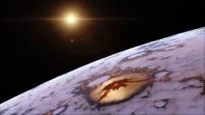 Gliese 667 C-c (A giant vulcan)