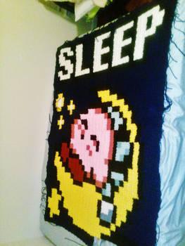 Kirby Blanket WIP Part 2
