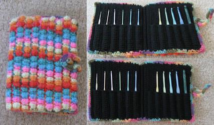 Bubble Crochet Case