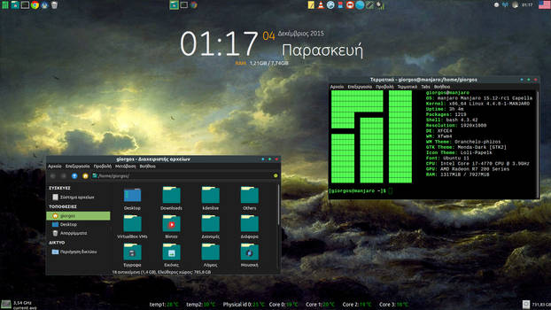 Manjaro Linux - Xfce Desktop (1)
