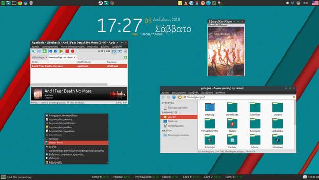Manjaro Linux - Xfce Desktop (9)