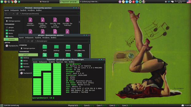 Manjaro Linux - Xfce Desktop (16)