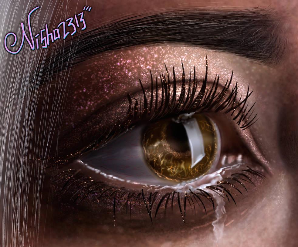 Crying (Close Up) by Nisha2313