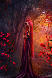 Her Crimson Dreams by Nisha2313