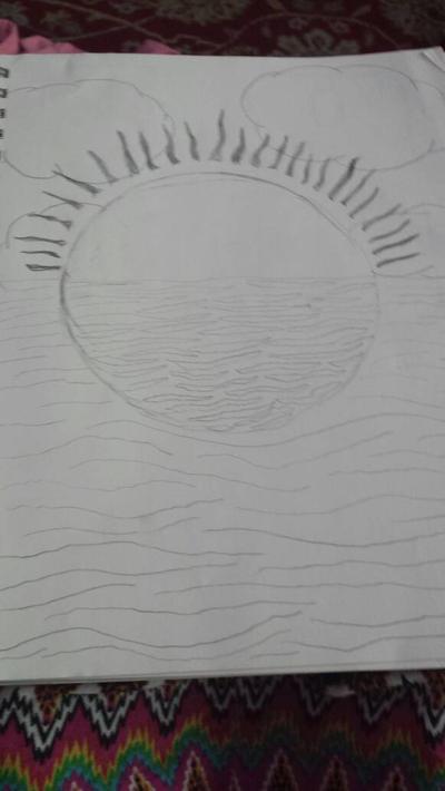 Beautiful Sunset by Trinity-Alexandria