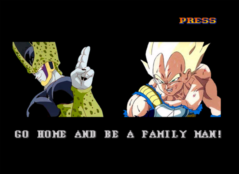 Go home and be a family man DBZ version by Ren Swagzareth on