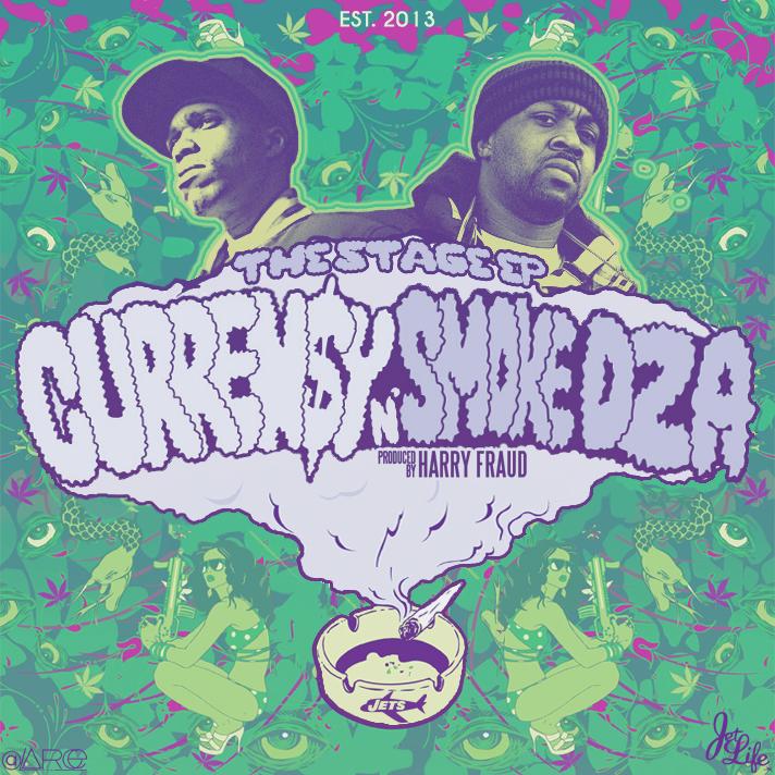 Resultado de imagen para Curren$y & Smoke DZA - The Stage EP
