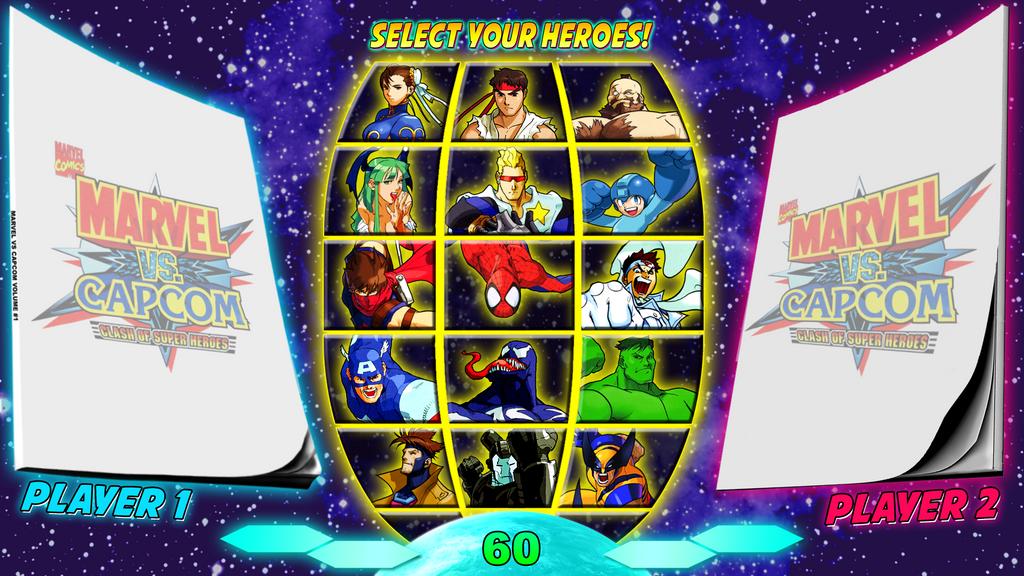 Marvel Vs Dc Vs Snk Vs Capcom Mugen