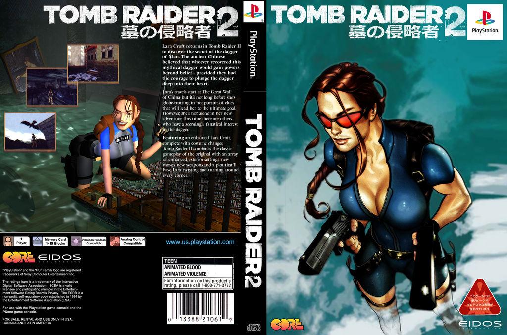 Tomb Raider 2 Psx Re Issue By Renofswagzareth On Deviantart