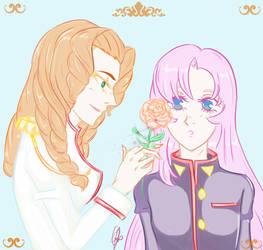Prince Juri x Utena - Ma promise de la rose