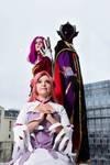 Cosplay Code Geass - Zero, Cornelia et Euphemia by Kawaii-Trix