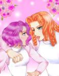 Fake Shiori x Juri - Become a prince with me ! by Kawaii-Trix