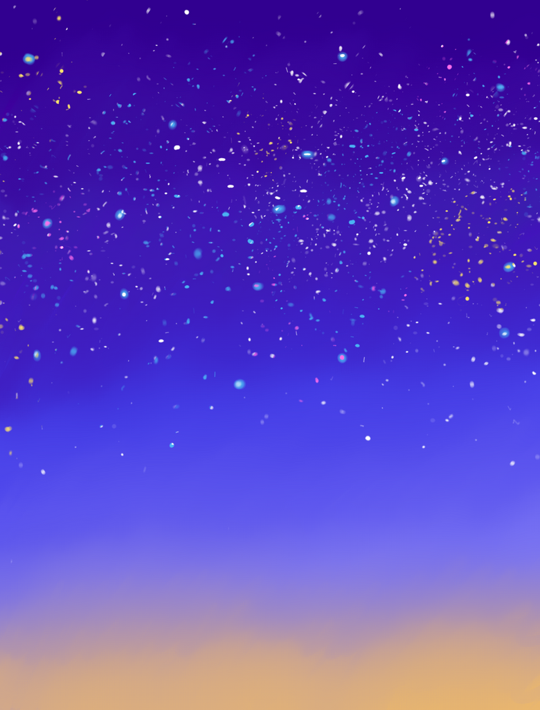 snowy night sky wallpaper