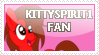 KittySpirit1 Fan Stamp by katGh0st