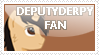 DeputyDerpy Fan Stamp by Kitty-Spirit1