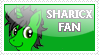 SharicX Fan Stamp by katGh0st