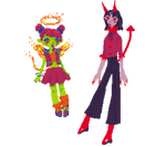 pixely monster adopts (open 1/2) by fatpeaches