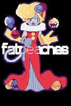 juggling mean clown cat (closed)