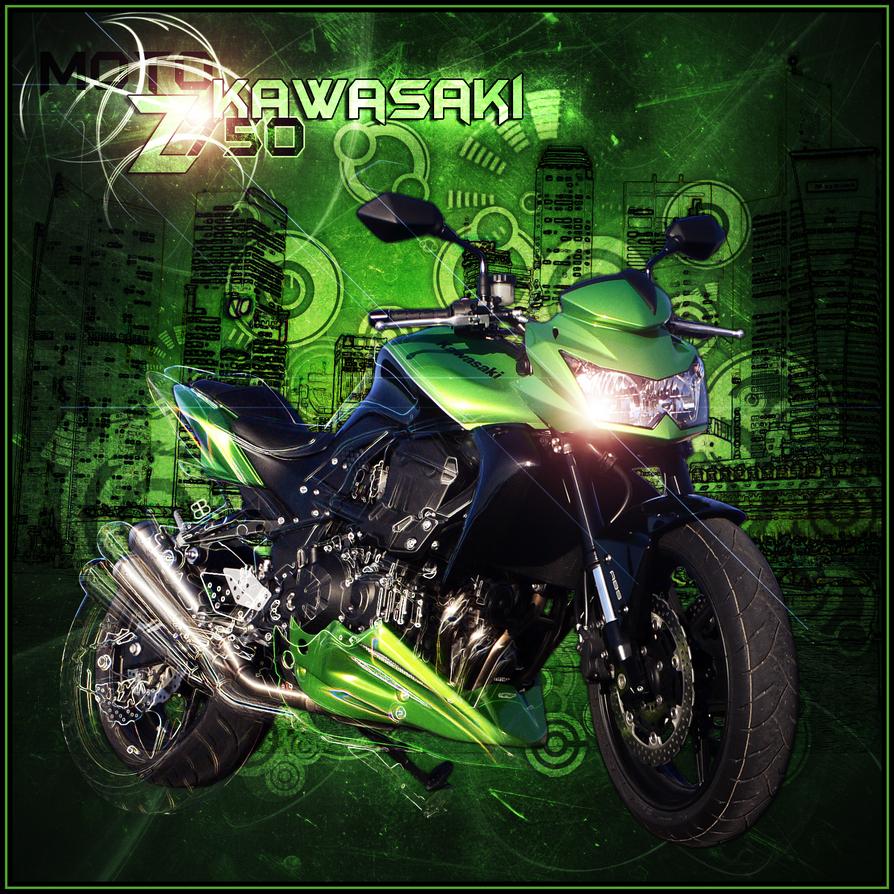 Moto Z750 Kawasaki By Boblove1