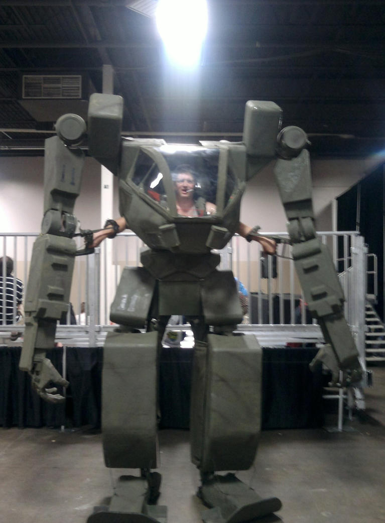 how to build a real mecha suit