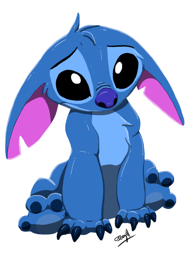 sad stitch wallpaper is - photo #4
