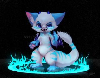 Fluff Dragon by icefyrefox