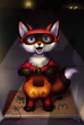 Trick or Treat by icefyrefox