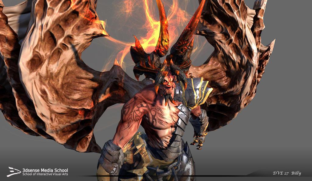 Darksider's Samael - Zbrush model by Billy Ang by ...