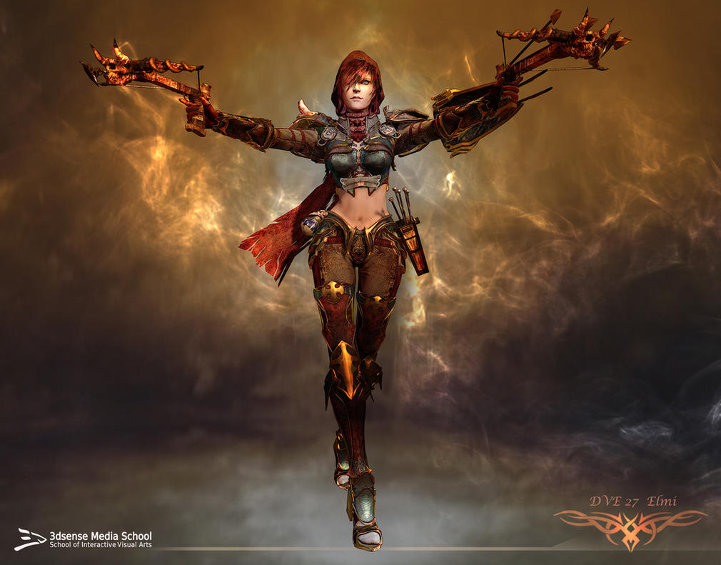 Diablo III Demon Hunter - 3D model by Elmi Diero by ...