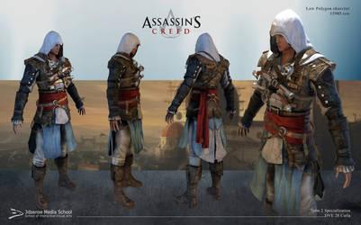 Assassin's Creed - Zbrush model by Carla Priscilla