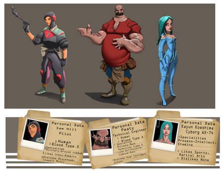 Mech Crew - Concept design by Eddy