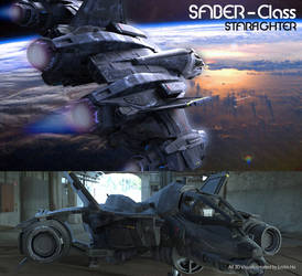 Halo Starfighter - 3D Model by Justin Ho