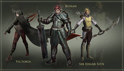 Character design by N3Tninja