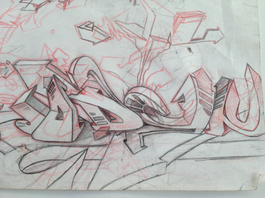 Jaden 3d sketch ! by MERSY-07