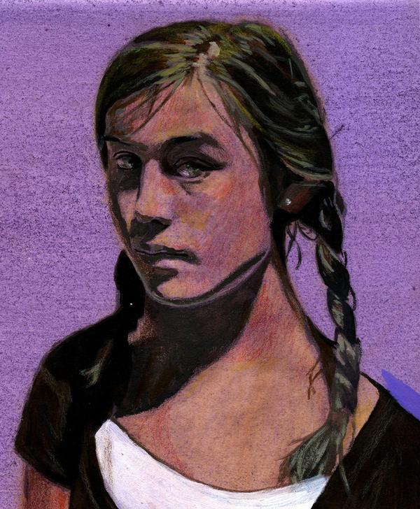Girl by redghostman