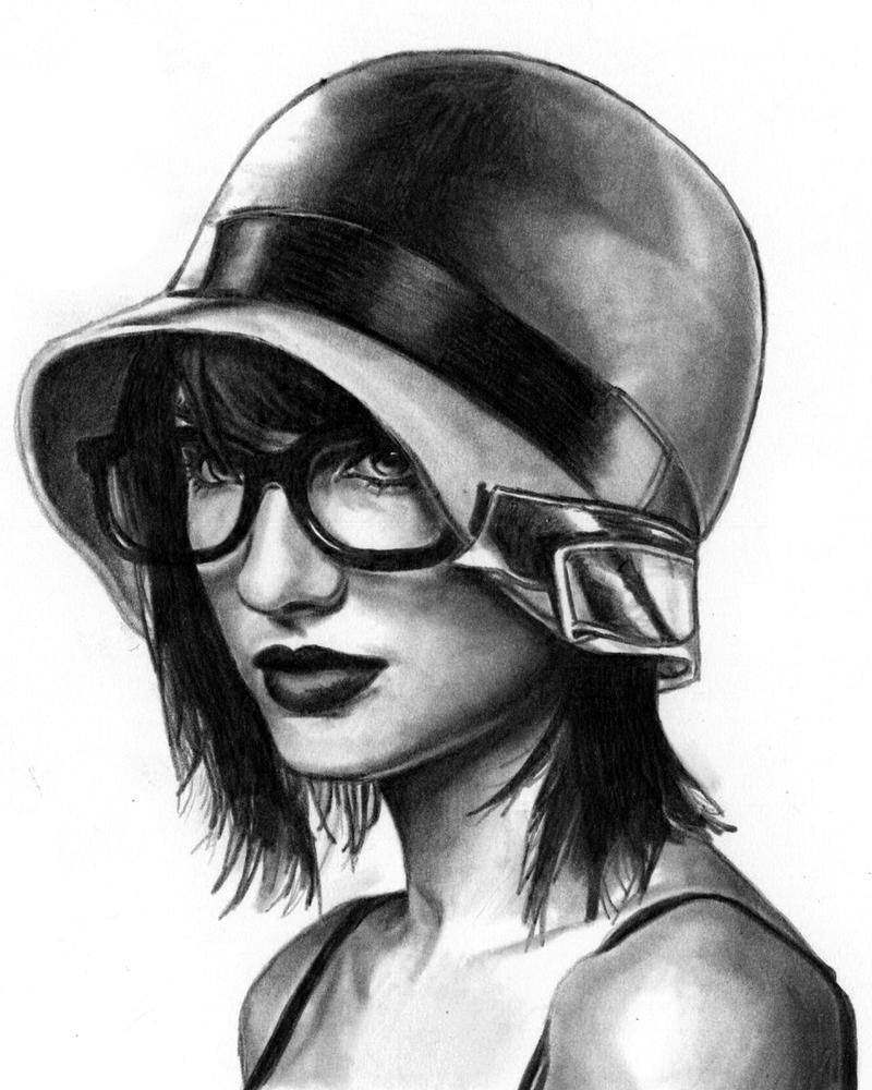 30's Girl by redghostman