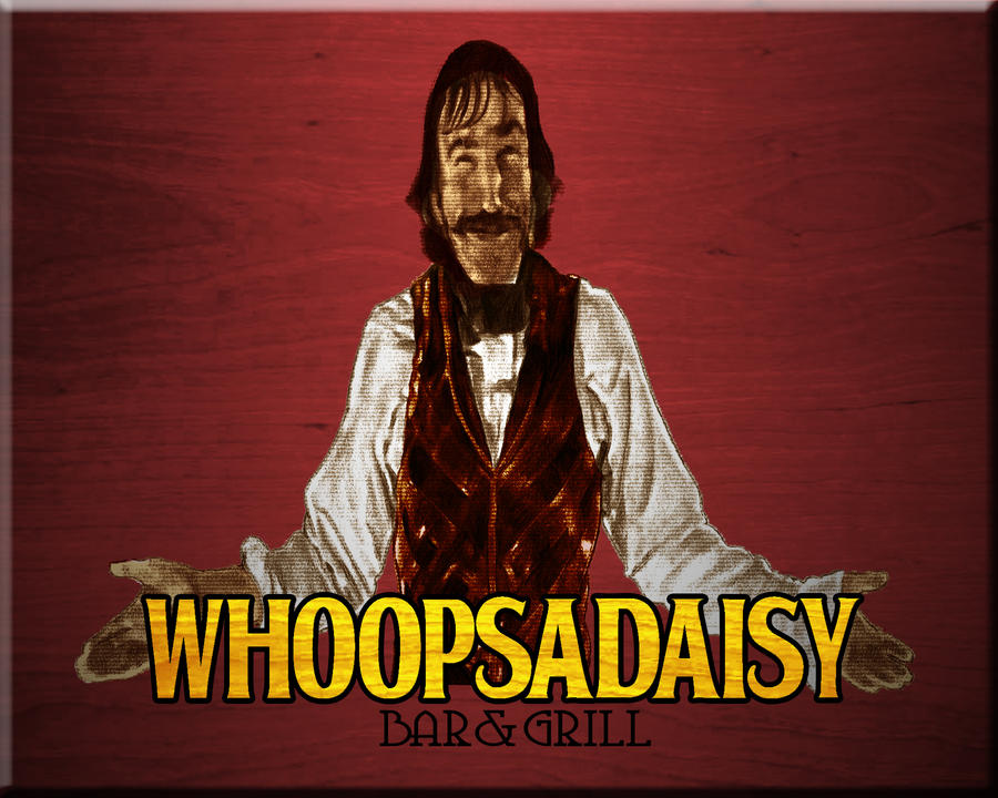 Whoopsadaisy: Bar and Grill by redghostman